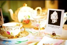 Glorious Vintage Tea Parties / Some of our wonderful ideas to help create fabulous tea parties for any occasions from birthday parties, baby showers, hen parties or glamourous girly get togethers www.hopeandgloriousvintage.co.uk #vintage tea parties #vintage hen tea parties