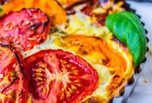 Quiches and Tarts / Food to tempt you to eat more