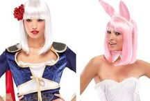 Halloween Party Ideas ! / Exclusive new party & fun wigs for Halloween.  From WigSalon.Com