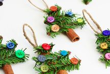 Christmas handmade gifts, crafts & DIY ornaments