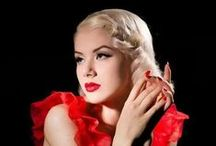 Glorious 50s Pin Up Look / Glorious 50's styled Pin Up looks perfect for a hen party or Birthday celebration