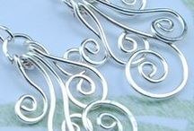 Wire jewelry / ワイヤージュエリーのデザインを勉強の為にpin!