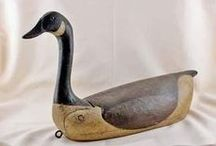Decoys of Yesteryear / What decoy carvers a and hunters.made in ythe past.