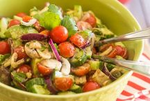 Salad Recipes / Healthy and delicious salad recipes