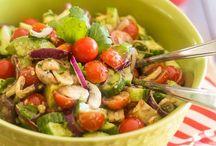 Salad Recipes / Healthy and delicious salad recipes