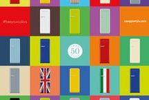 #freeyourcolors / Colora la tua cucina con Smeg 50's style! / Color your kitchen with Smeg 50's style!
