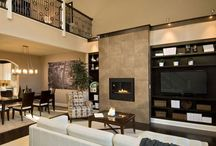 Custom Living Room Ideas / Inspiration for your custom dream living room. Build your dream home with Barbera homes in the New York Capital Region.