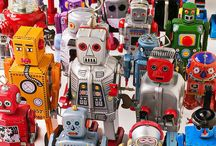 We are the Robots / Lesson plan ideas embedding numeracy, literacy, science.  Art, textiles and construction ideas inspired by robots ........