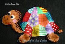 Hama / Trabajos realizados con hama beads mini