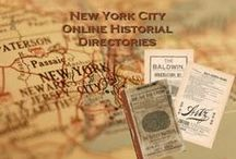 Places New York City / New York genealogy and historical resources