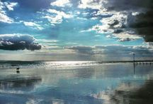 Big Skies and Sunsets / Photos taken by Lizzie Reakes Wittering, Bracklesham, London, Cambridge, Amsterdam, Bognor