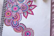 Doodles e zentangles