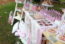 Ρομαντική Βάπτιση με θέμα Floral Πεταλούδα / Διακόσμηση βάπτισης με θέμα floral πεταλούδα- Baptism Floral Butterfly themed Candy Bar.