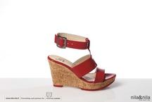 nila& nila shoes PE2013 / The secret of the success of the line Nila&Nila is based on its dna Made in Italy.