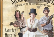 Steampunk Stomping / The spring benefit for the Durango Discovery Museum.\ Huzzah, a Steampunk extravaganza featuring retro-futurist dress-up and other arcana.
