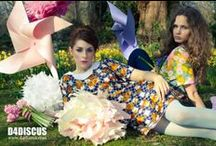 D4DISCUS - Fashion Shoot in Wimbledon / Photography by Donovan Rees / Make-up by Laura Naish / Models: Hanna and Felicity /