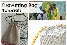 Drawstring Bag Tutorials