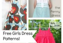Girls Dress Patterns / Explore Love Sewing Magazine's hand-picked collection of Girls Dress Patterns on Pinterest.  dress tutorials, peasant dresses and girls dress patterns and tutorials