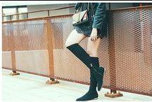 Angelichic for nila&nila f/w 2014 / Our High Stretch Boots by nila&nila f/w 2014 http://www.angelichic.com/as-a-chic-bad-girl/