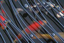 BXO    kunst-zinnig ijzerwerk / Functionele stalen sieraden voor huis en tuin...... Specialist in kindveilige Vijverroosters!