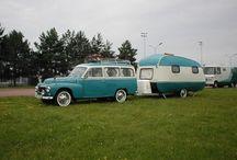 Gamle campingvogne / Tove Iversen