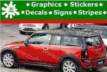 Mini Cooper Racing Stripe Stickers Design Car Catalog / Mini Cooper Catalog From Craft Art Design UK Company Make Special Orders for Special Customers, Our Items IS MADE Only AT HIGH QUALITY AMERICAN VINYL Oracal  Self Adhesive Gloss Vinyl Graphic Made in UK Easy to apply. http://www.ebay.co.uk/itm/Mini-John-Cooper-Large-Side-Racing-Stripe-Car-Sticker-Vinyl-Race-Car-Decal-24-/231644946710?ssPageName=STRK:MESE:IT