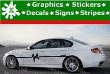 BMW Racing Car Stripes Stickers / BMW Racing Car Stripe Catalog from Craft Art Design UK Company Make Special Orders for Special Customers, Our Items IS MADE Only AT HIGH QUALITY AMERICAN VINYL Oracal  Made in UK Easy to apply from http://www.ebay.co.uk/itm/BMW-Turbo-2X-Large-Side-Racing-Stripe-Kit-Car-Stickers-Vinyl-Race-Car-Decals-6-/231642587121?ssPageName=STRK:MESE:IT