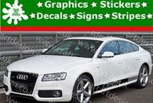 Audi Racing Sport Car Stickers / Audi Racing Stripe Catalog from Craft Art Design UK Company Make Special Orders for Special Customers, Our Items IS MADE Only AT HIGH QUALITY AMERICAN VINYL Oracal