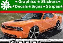 Dodge Racing Stripes Stickers / Catalog Dodge Racing Stripes Stickers from Craft Art Design UK Company Make Special Orders for Special Customers, Our Items IS MADE Only AT HIGH QUALITY AMERICAN VINYL Oracal Graphics, Signs, Stickers and Many More...,if you have Idea, Picture or Project just let us Know, we make it and shiped Worldwide