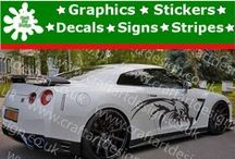 Nissan Racing Stripes Stickers Catalog Vinyl Graphic Car Design from Craft Art Design UK / Catalog Nissan Racing Stripes Stickers from Craft Art Design UK Company Make Special Orders for Special Customers, Our Items IS MADE Only AT HIGH QUALITY AMERICAN VINYL Oracal Graphics, Signs, Stickers and Many More...,if you have Idea, Picture or Project just let us Know, we make it and shiped Worldwide