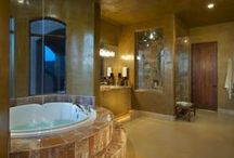 Lavish Master Bath / Lavish Master Bath, Lavish, Interior Design, Construction Remodel, Master Bathroom Remodel, Shower, Bath Tub, Luxury Home, Luxury Bathroom
