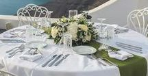 Weddings at Santorini / Photos from weddings that have been done at Athina Luxury Suites