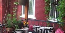 Small Balconies / Little cosy spaces...