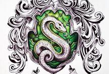 Slytherin pride / SLYTHERIN