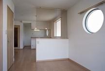サークルフィックス(円形)窓:パナソニック耐震住宅工法テクノストラクチャー / パナソニック耐震住宅工法テクノストラクチャーで建設されたアパート。
