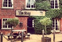 The Stag on the River / Set beside the River Wey near Godalming in the beautiful village of Eashing, The Stag pub offers unique character and charm both in the pub and restaurant and in the quintessentially English letting rooms. / by Red Mist Leisure Pubs