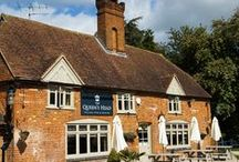 The Queen's Head / Village pub & dining in the heart of Surrey near Guildford, with a focus on fresh, seasonal and local produce - we love real ale too! / by Red Mist Leisure Pubs