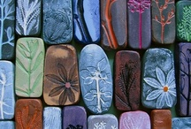 Pottery Pins / Your hands have made me and fashioned me: give me understanding, that I may learn your commandments.  Psalm 119:73