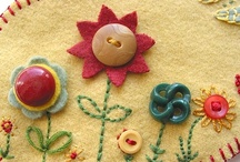 I love embroidery / I believe in being creative -- like my Creator.  Decorating things, especially my daughter's clothes, is one way I enjoy using embroidery.