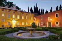 Villa Cordevigo / Villa Cordevigo Wine Relais retains the charming atmosphere of an old villa typical of the Veneto region surrounded by parkland and immersed in leafy 100-hectare grounds containing vineyards and olive trees on the Cavaion Veronese hills in the vicinity of Lake Garda.