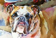 Bulldog Art / by Jack Clark
