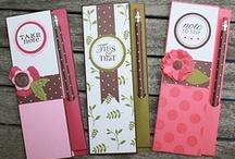Handmade notepads/books