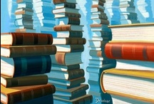 Love of Books / Books in artwork, illustrations and photography. #love #books #artwork #beautiful #f4f