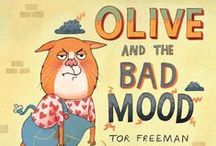 Moody Monday Books / Feeling grumpy, out of sorts, in a bad mood - not to worry, we've got just the book for you!