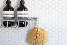 B A T H R O O M / A sanctuary of cleanliness and relaxation
