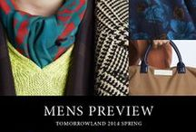 MENS PREVIEW | TOMORROWLAND 2014 SPRING / http://www.tomorrowland.co.jp/catalogue/2014spring_mens/#Page