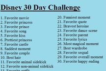 30 Day Disney Challenge  / 30 days of Disney