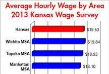 Careers in Kansas / Top careers in Kansas and career tips.