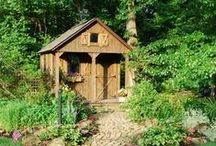 Glorious Garden Sheds / Inspiring Garden sheds and buildings which we love!