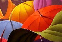 Colour My World. / Color everywhere.